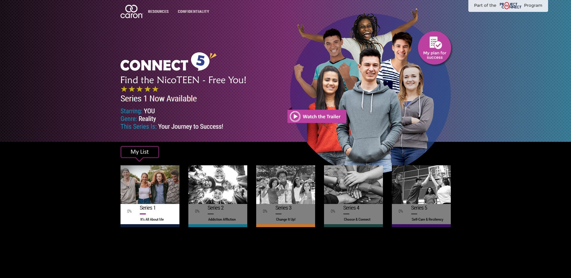 connect 5 series