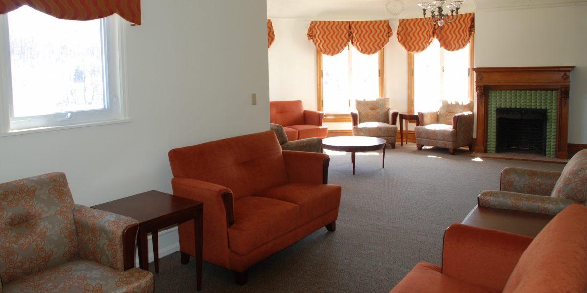 Breakthrough mansion interior