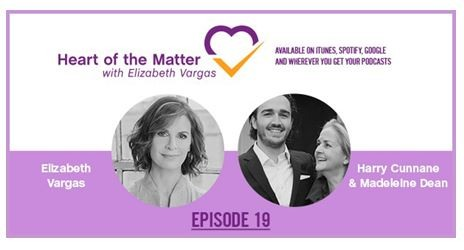 Caron in Heart of the Matter with Elizabeth Vargas