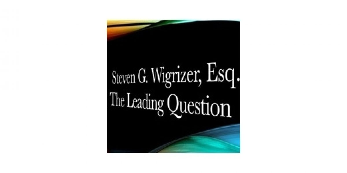 The leading question logo