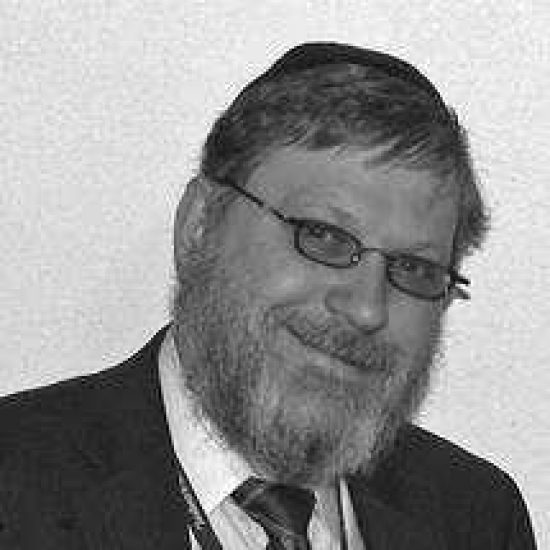 A headshot of Rabbi Yosef Lipsker.