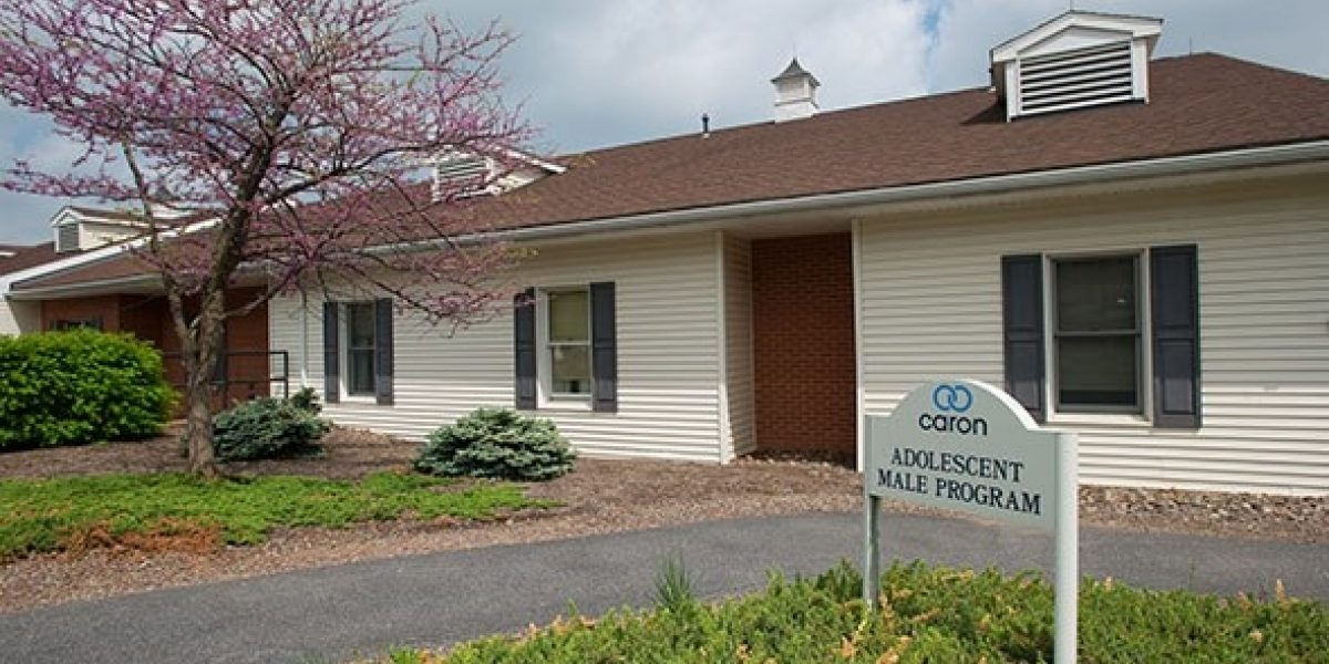 Photo of exterior of adolescent male living quarters