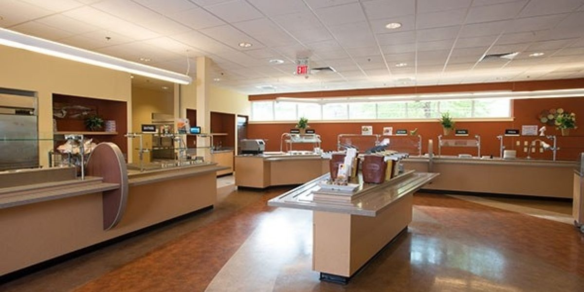 Photo of the cafeteria for adolescents and young adults