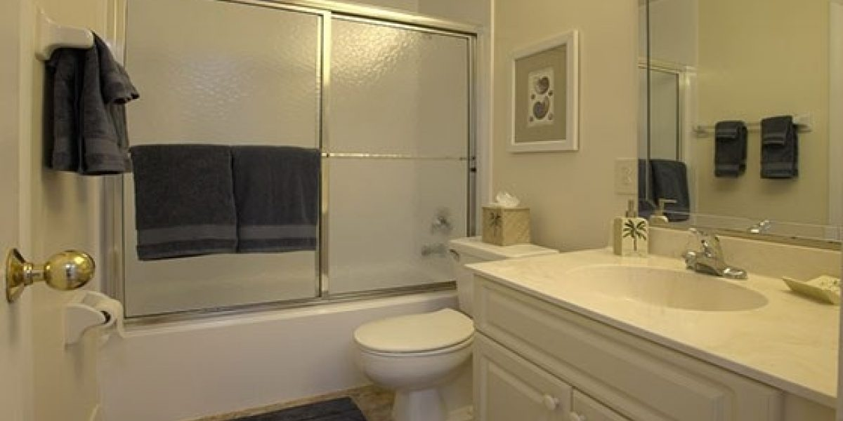 Photo of the bathrooms at Renaissance residences