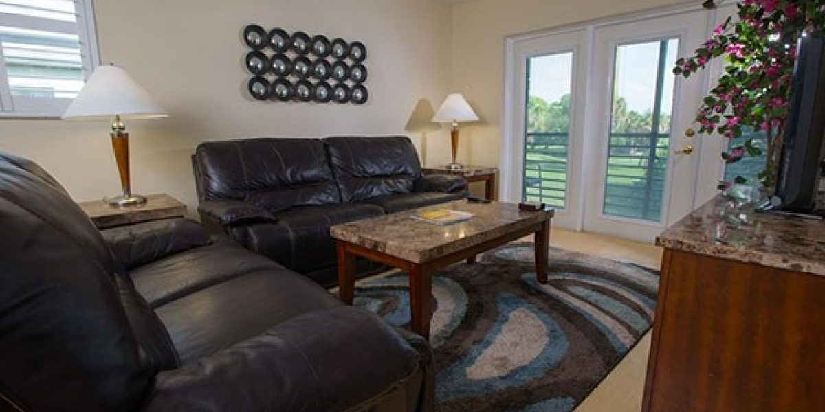 Photo of living room of the residences