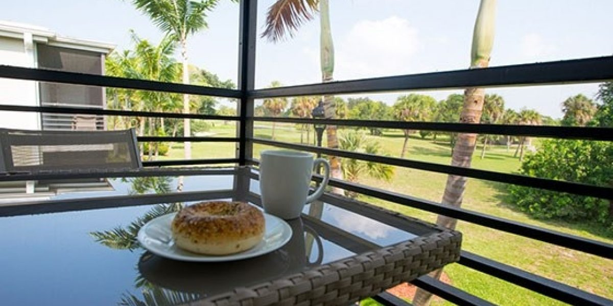 Photo of balcony at the residences