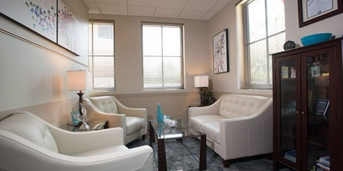 Photo of interior of a counselor's office at Renaissance.