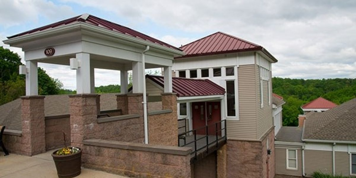 Photo of the exterior of the Chen See Womens Center