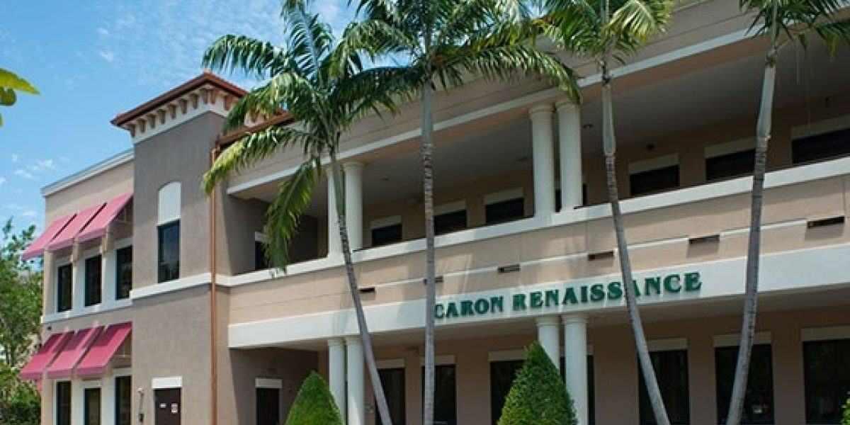 Photo of the exterior of the clinical offices at Caron Renaissance