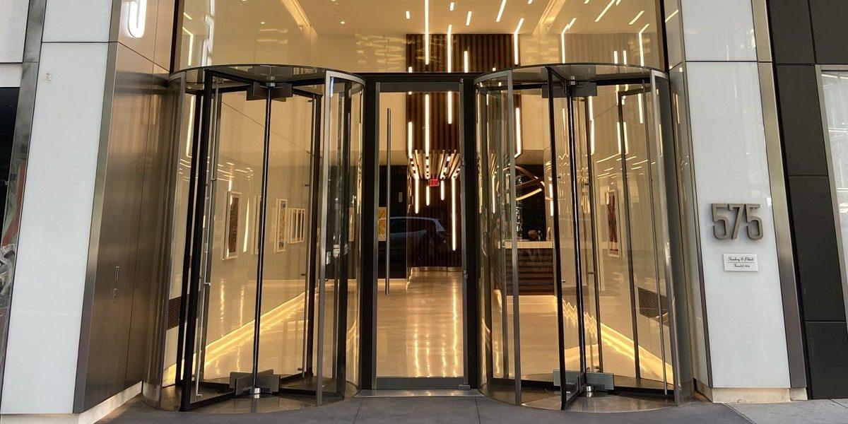 NY Office doors