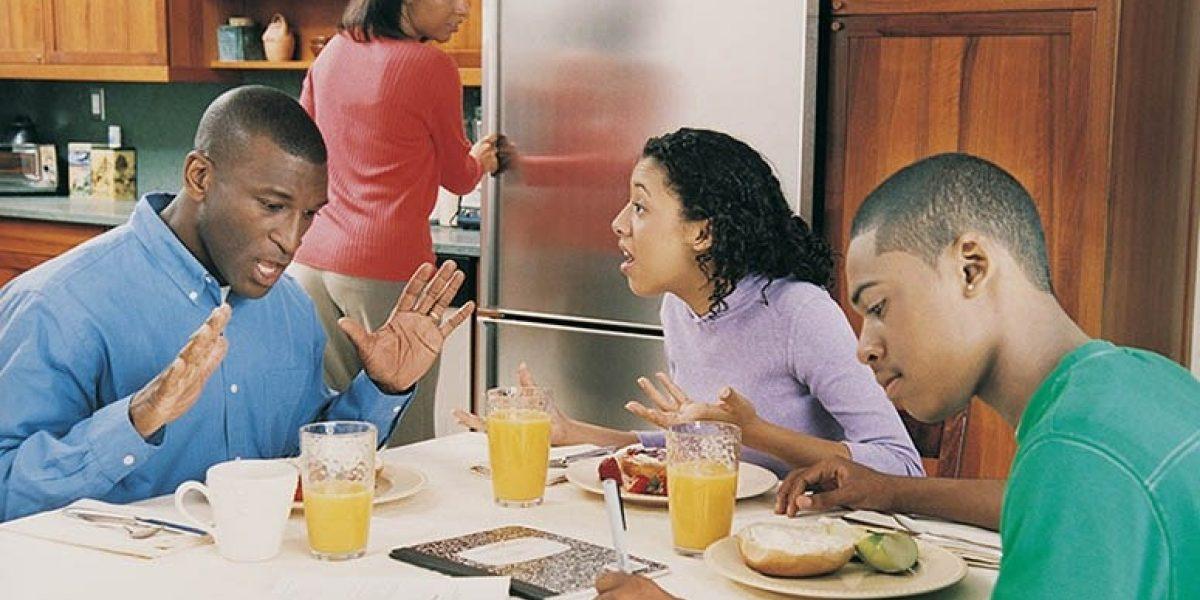 siblings arguing