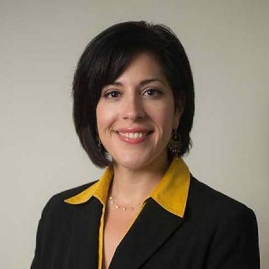 A headshot of Jennifer Savarese Farr.